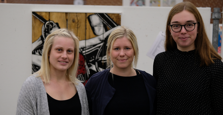 Julia Riis, Theresa Torp, Rikke Thomsen